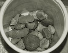 Nazbierané kamienky