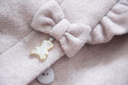 Kabátik SLY s roztomilým detailom