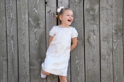 Šaty GAP, baleríny H&M