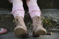 Ponožky Mayoral, Kožené čižmičky Next