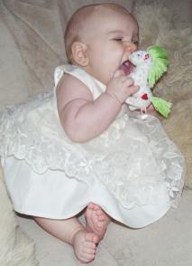 Kiara v šatočkách Cinderella