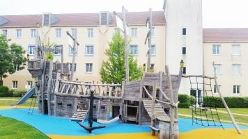 Detské ihrisko pri hoteli