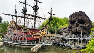 Pirátska loď v rekonštrukcii