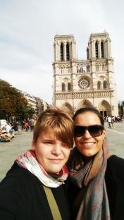 Chrám Matky Božej a selfie s nami :)