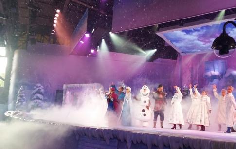 Predstavenie Frozen, zimomriavkový zážitok
